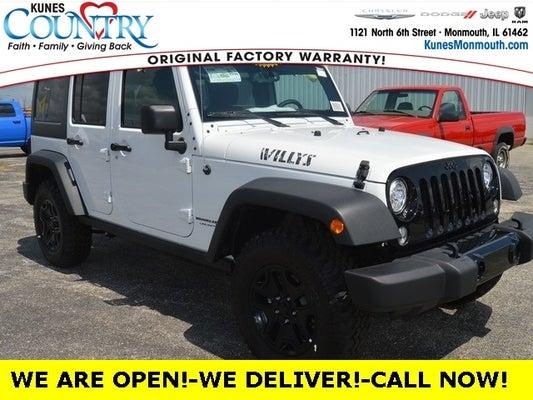 Jeep Wrangler Jk >> 2018 Jeep Wrangler Unlimited Wrangler Jk Unlimited Willys Wheeler W 4x4