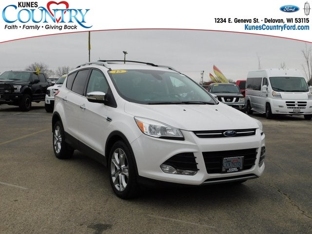 2015 ford escape titanium in sterling il kunes country c b of sterling